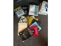 Large bag of assorted sheet music
