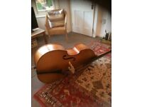Double bass 3/4 size, great student bass for Jazz or Classical £600