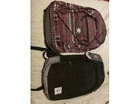 Two school bags