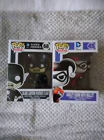 DC POP! Vinyls (Harley Quinn and The Flash)
