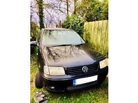 VW POLO BLACK REPAIR/PARTS OFFERS!