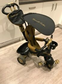 Smartrike Dream 4-in-1 Touch Steering Trike Gold