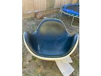 Space age rocking chair placenta
