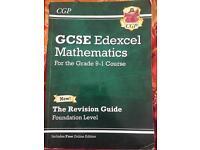 GCSE Edexcel maths revision guide for sale!