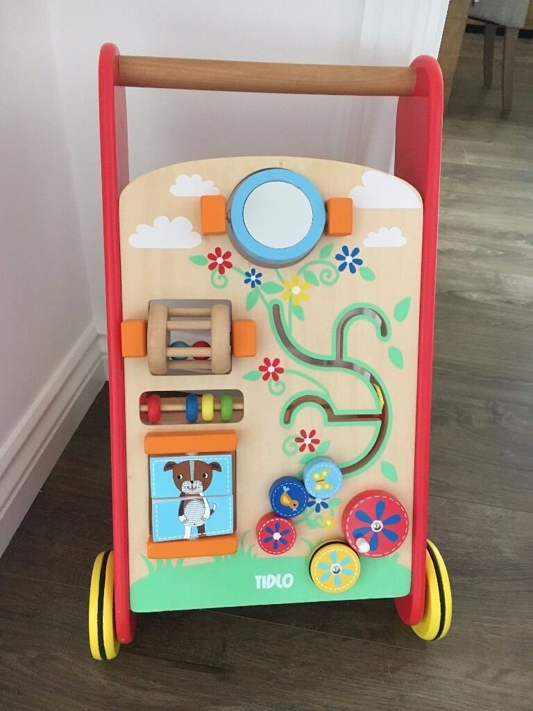 Tidlo wooden baby walker - excellent condition