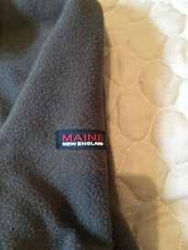 Mens Maine fleece size M