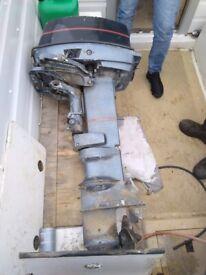 evenrude outboard 20/25hp