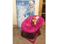 Frozen chair and picture