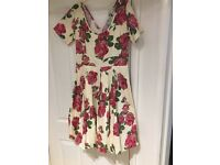 Lovely ladies dress ideal for wedding or a day at the races