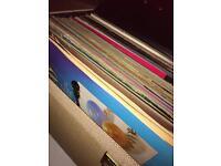 Approx 200 records vinyl mixed lot