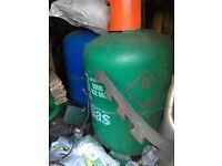 2 x Calor GAS Cylinders 13-15 KG