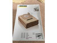 Genuine Karcher 5 x paper filter bags 6.959-130.0