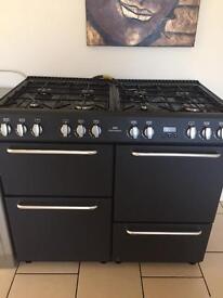 8 burner gas range cooker