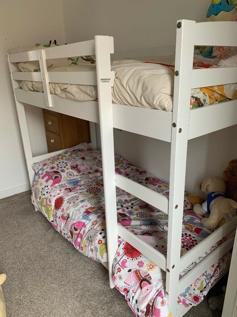 Picture of: Short Bunk Bed Argos Josie In White In Trumpington Cambridgeshire Gumtree
