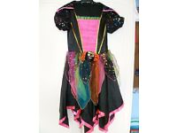 Spider dress dress-up outfit aged 7-8 years