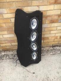 Ford Fiesta speakers