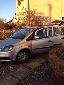 Vauxhall Zafira 1.9 CDTI Diesel 7 seats for sale only 75000 miles!