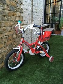 """Apollo PomPom Kids' Bike - 14"""""""