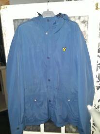 Mens xl lyle and scott coat