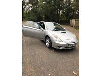 Silver Toyota Celica FOR SALE £695.00