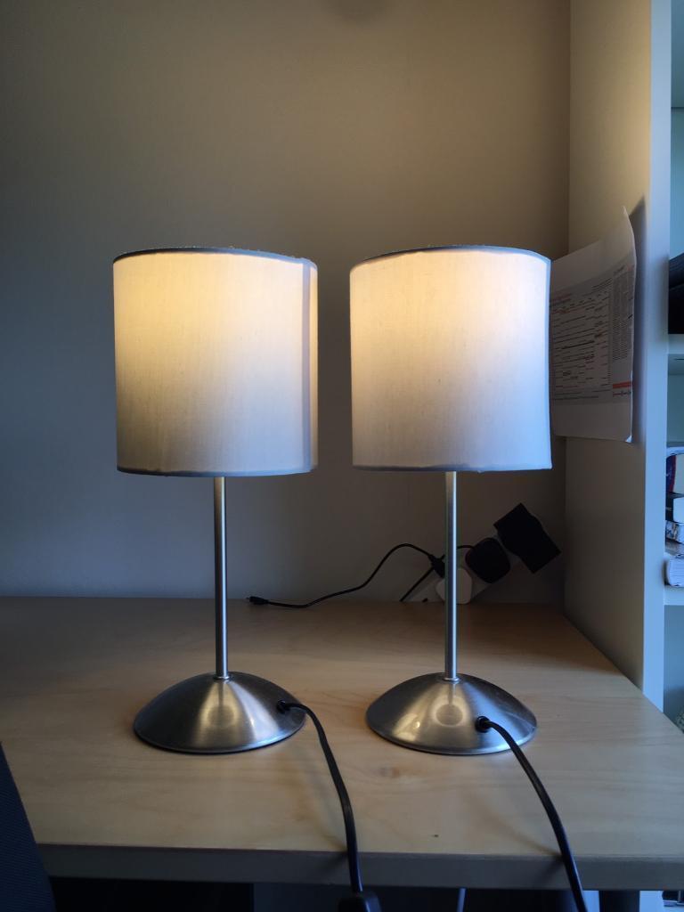 Ikea tiarp lamp table x 2 in gloucester road bristol for Industrial floor lamp gum tree