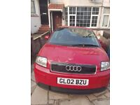 Audi a2 Manual Petrol 1.4 litre engine