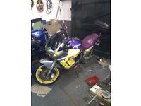 GSX600F swap for trials bike
