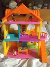 Dora the Explorer house