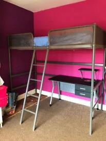 Ikea high sleeper single bed