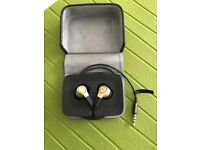 Top notch B&O in ear headphones. Mostly unused/New. Superb Bargain