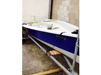 Laser (RS) 2000 Project boat. + Road Trailer