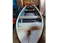 12ft open boat ready to go.