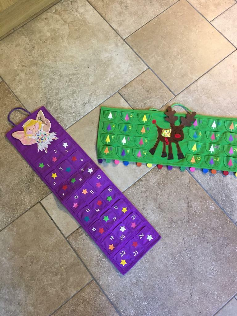 2 Advent Calendars - (PRICE IS FOR BOTH)