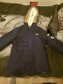 Mens Cashmere Winter Jacket (Blue)