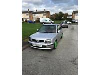 Nissan micra for sale or swaps for little 4x4