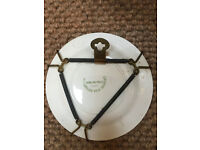 Lovely Vintage James Kent Romance Wall Plate & Liverpool Road Pottery Wall Plate