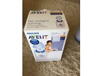 Tommee tippee Breast pump, bottle warmer and avent warming system