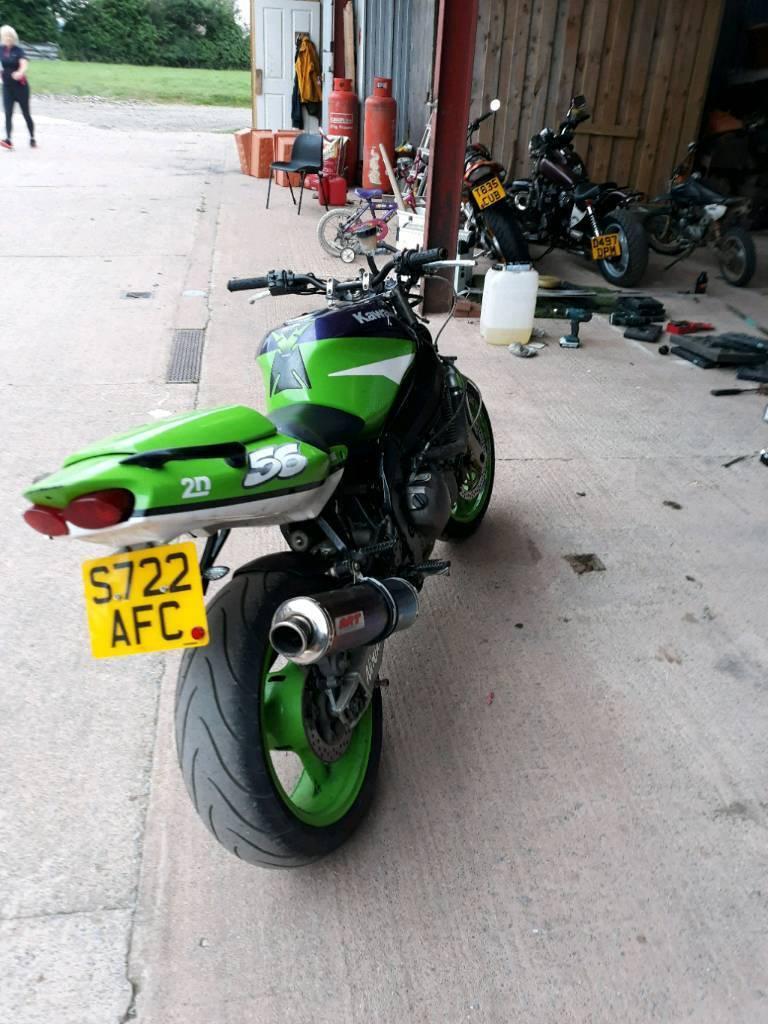 Kawasaki ZX-6R Sport 1998 Till salu - Information om