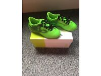 Kids Boxed Indoor Adidas Football Boots - Size 11