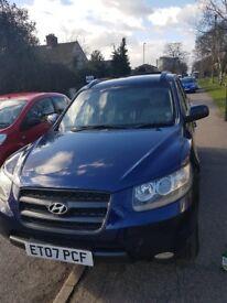 Hyundai Santa Fe 2.2 diesel 7 seater