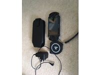 Sony PSP, Charger, Carry Case + 10 Games! L@@K