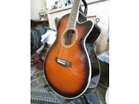 Ashton electro/acoustic solid top guitarNew. only £110, (RRP £199)