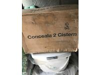 Concealed cistern (new)