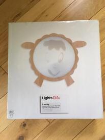 Lamby lamb Wall light diffuser nursery