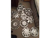 Car rims Collection Different brands