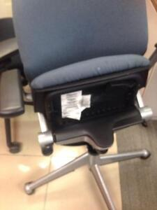 Preowned Steelcase Vecta  Kart Training Nesting chair