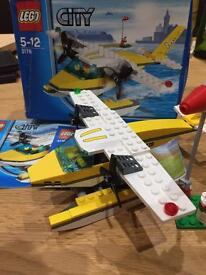 Lego city seaplane- 3178