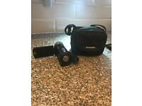Panasonic SD Card Camcorder with tripod