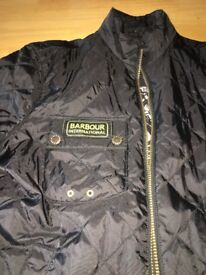 Barbour lightweight black jacket