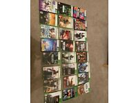 X box 360 with connect and games